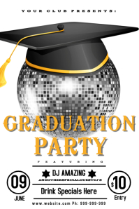 Graduation Night Club Poster