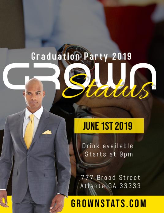 Graduation party Iflaya (Incwadi ye-US) template