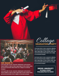 GRADUATION PARTY Pamflet (VSA Brief) template