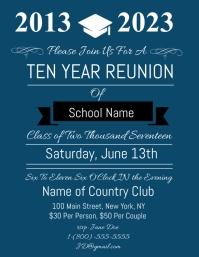 class reunion flyer template koni polycode co