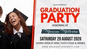 Graduation Party Invitation Video Banner