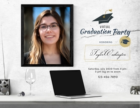 Graduation Party Invite Instagram Post
