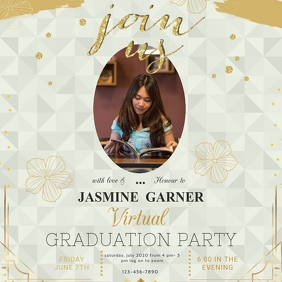 Graduation Party Invite Instagram Post