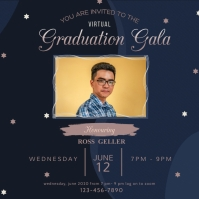 Graduation Party Live Stream Instagram Post I