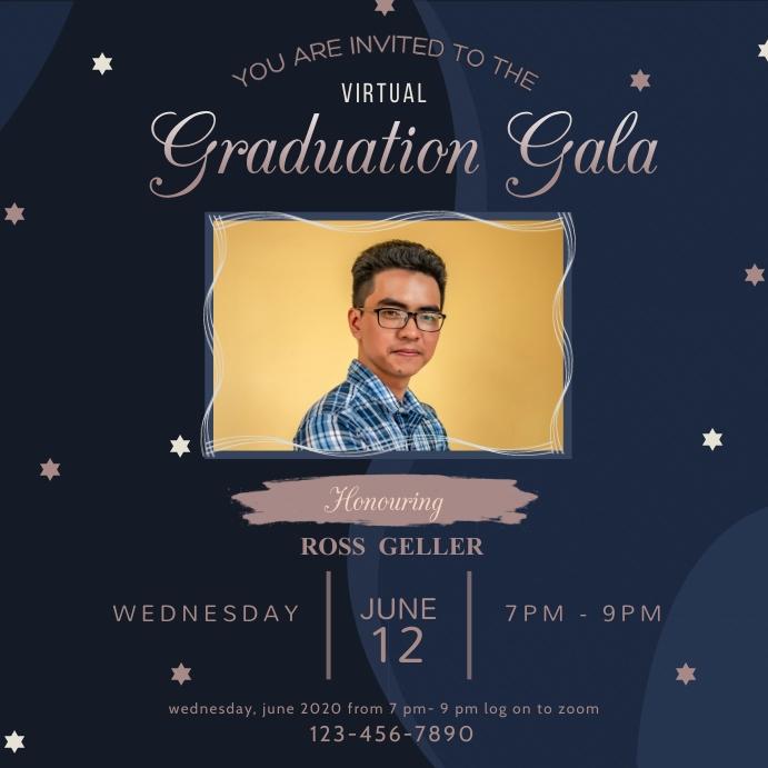 Graduation Party Live Stream Instagram Post I