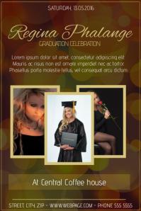 graduation party flyer template