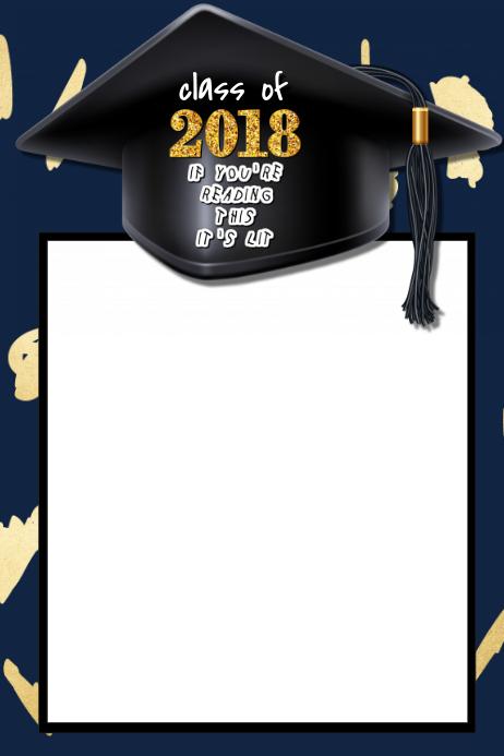Graduation Party Prop Frame
