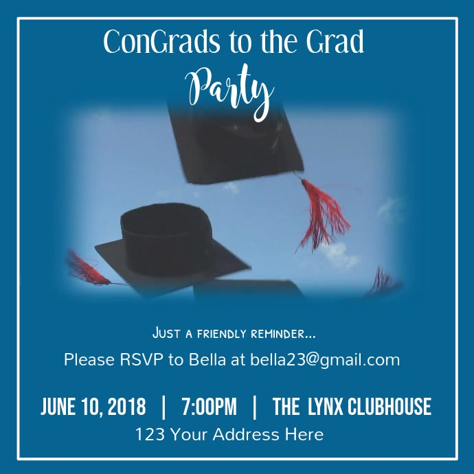 Graduation Party Video