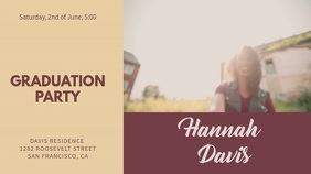 Graduation Party Video Template