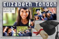 Graduation Photo Collage Template