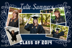 Graduation Poster Idea