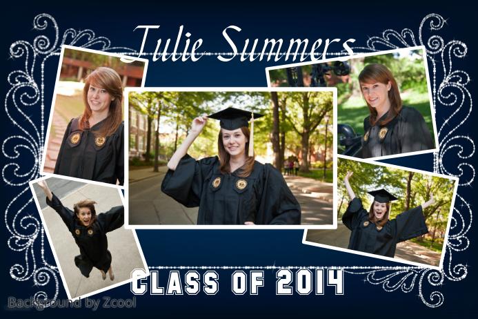 Graduation Poster Idea template