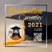 Graduation Poster Template 2 Logo