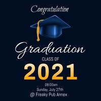 Graduation Poster Template Logo