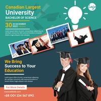 Graduation Program Template Instagram 帖子