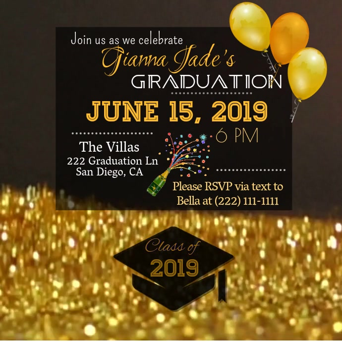 Graduation Save the Date Video
