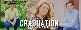 Graduation Service Fotografia de capa do Facebook template