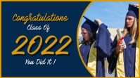 Graduation template Pantalla Digital (16:9)