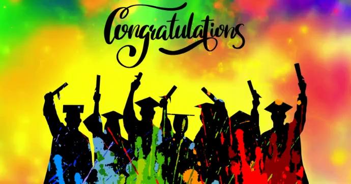 Graduation Template Facebook 共享图片