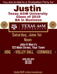Graduation Texas A&M