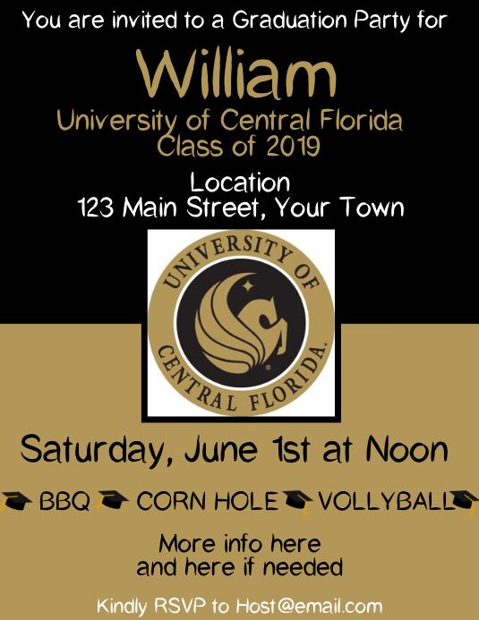Graduation University of Central Florida