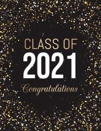 Graduation Video, Graduates Video Flyer (US Letter) template