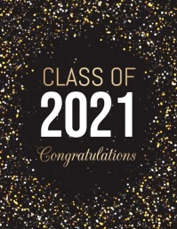 Graduation Video, Graduates Video 传单(美国信函) template