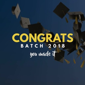 Graduation Wish video Template