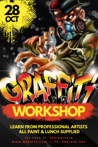 Graffiti Workshop Poster