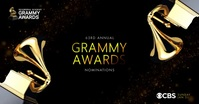Grammy Awards Nominations 2021 Template Gambar Bersama Facebook