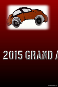 Grand Auto Show-customizable on Postermywall #antiquecars #posters #artprints