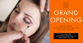 GRAND BEAUTY PALOUR OPENING POSTER