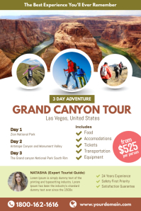Grand Canyon Tour Travel Poster