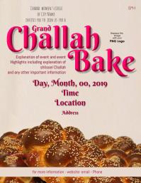 Grand Challah Bake Flyer
