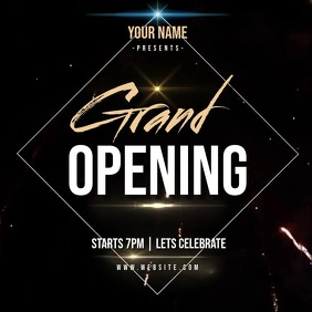 GRAND OPENING AD INSTAGRAM POST Template Square (1:1)