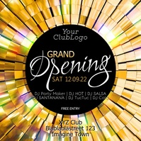 Grand Opening Event Club Bar Disco party Ad