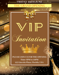 Grand Opening Event Poster/Wallboard template