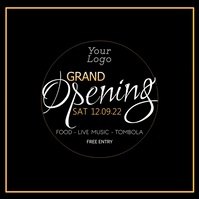 Grand Opening event Store Shop Company Advert