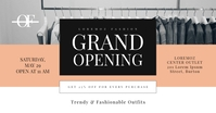 Grand Opening Facebook Shared Image template