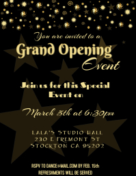 Customizable design templates for grand opening postermywall grand opening flyer stopboris Images