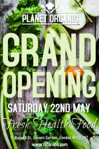 Grand Opening Flyer Poster Template