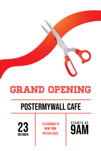 700 Customizable Design Templates For Grand Opening Postermywall