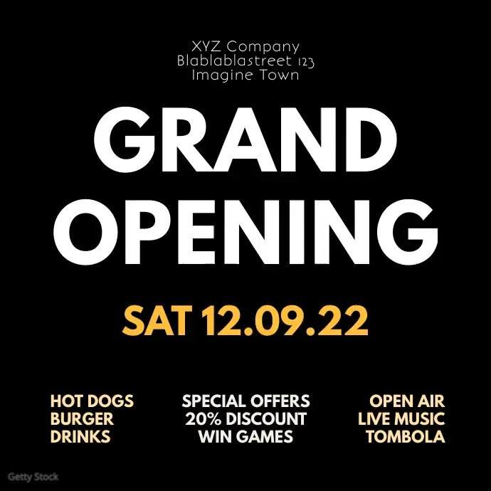 Grand Opening Party event Celebration Video