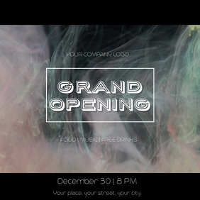 Grand Opening post