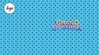 Grand Opening Template โพสต์บน Twitter