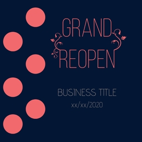 Grand Reopen save the date