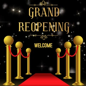 GRAND REOPENING AD SOCIAL MEDIA POST