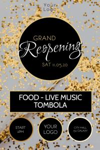 Grand Reopening Celebration Event Party Glitt