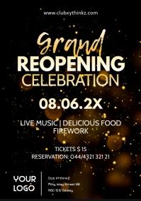 Grand Reopening Celebration Opened Open Invit