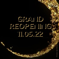 Grand Reopening Gold Glam Celebration Event A
